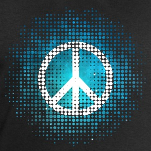 Peace Symbol Love Harmony Freedom Dots Summer Long sleeve shirts - Men's Sweatshirt by Stanley & Stella