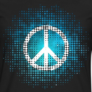 Peace Symbol Love Harmony Freedom Dots Summer Tee shirts - T-shirt manches longues Premium Homme