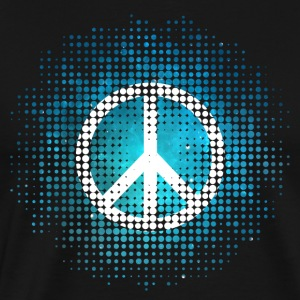 Peace Symbol Love Harmony Freedom Dots Summer Tee shirts manches longues - T-shirt Premium Homme