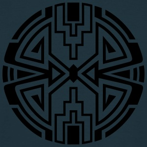 Native circle symbol, arrows & diamond - Intention Pullover & Hoodies - Männer T-Shirt