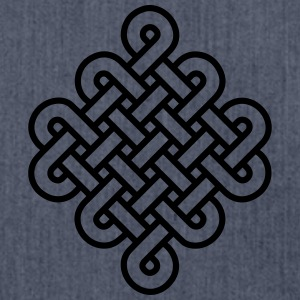 Knot Infinity Buddhism Tibet endless eternal celts Tee shirts manches longues - Sac bandoulière 100 % recyclé