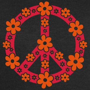 Peace Symbol Love Freedom Love Flower Hippie T-Shirts - Men's Sweatshirt by Stanley & Stella