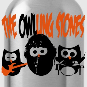 the owling stones T-Shirts - Trinkflasche