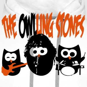 the owling stones  Aprons - Men's Premium Hoodie