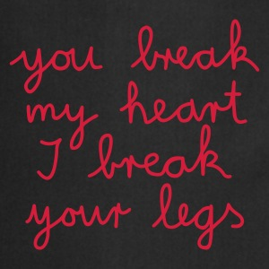 you break my heart - - Fartuch kuchenny