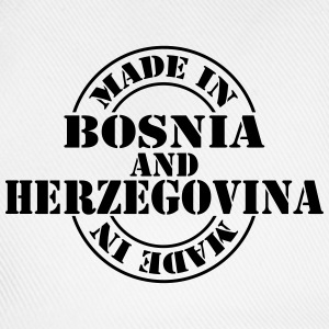 made_in_Bosnia_and_Herzegovina_m1 T-Shirts - Baseballkappe
