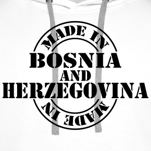 made_in_Bosnia_and_Herzegovina_m1 Tee shirts - Sweat-shirt à capuche Premium pour hommes