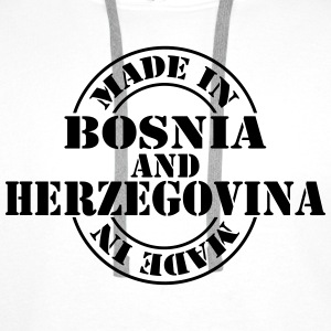 made_in_Bosnia_and_Herzegovina_m1 T-shirts - Premiumluvtröja herr
