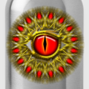 Dragon eye fantasy, symbol magical balance & power Long sleeve shirts - Water Bottle