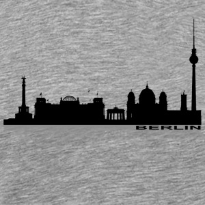 Berlin Cityscape 2 - Men's Premium T-Shirt