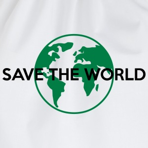 Save the world T-Shirts - Turnbeutel