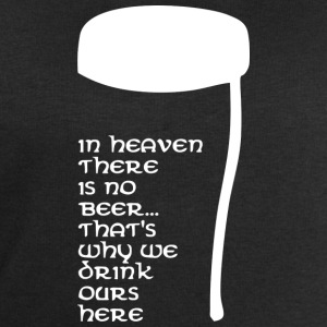 In Heaven there is no beer T-shirts - Sweatshirt herr från Stanley & Stella