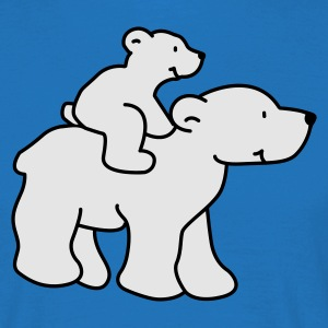 Happy Polar Bears - Men's T-Shirt