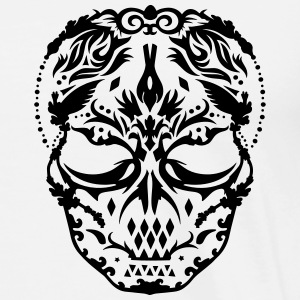 A skull mask with ornaments  Jackets & Vests - Men's Premium T-Shirt