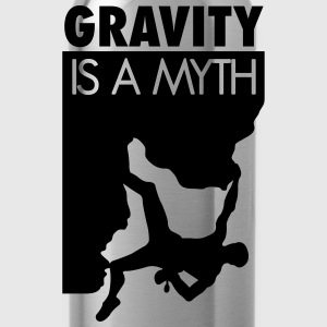 Gravity is a myth T-Shirts - Water Bottle