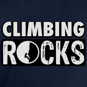 Climbing rocks T-Shirts - Men's Sweatshirt by Stanley & Stella