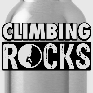 Climbing rocks T-Shirts - Water Bottle