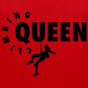 Climbing Queen T-Shirts - Men's Premium Tank Top
