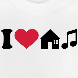 I love House Music T-Shirts - Baby T-Shirt