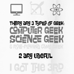 3 Types of Geek - Computer, Science and RPG Bottles & Mugs - Men's Premium Longsleeve Shirt