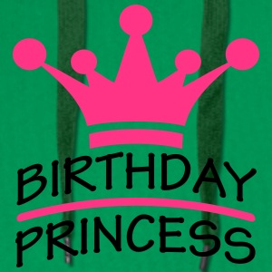 Happy Birthday Princess Logo Tee shirts - Sweat-shirt à capuche Premium pour hommes