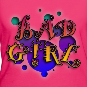 bad_girl_a_012014 Langarmshirts - Frauen Bio-T-Shirt