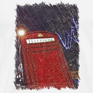 London phone box Bags & Backpacks - Men's Premium T-Shirt