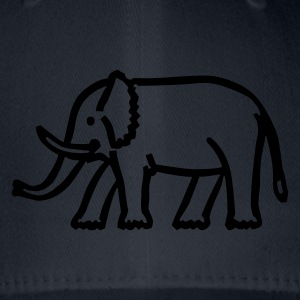 elephant - Flexfit Baseball Cap