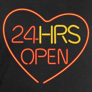 24 hours open love - Sweatshirts for menn fra Stanley & Stella