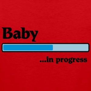 Baby in progress T-Shirts - Men's Premium Tank Top