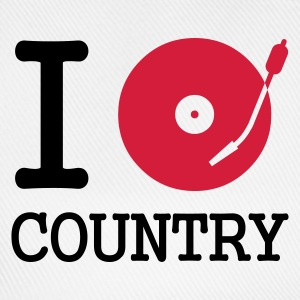 I dj / play / listen to country - Basebollkeps