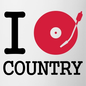 I dj / play / listen to country - Mugg
