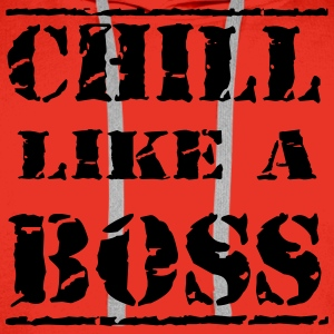 Chill like a boss Tee shirts - Sweat-shirt à capuche Premium pour hommes