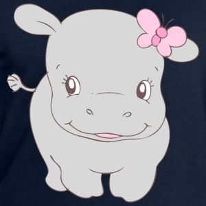 Girl Hippo Hippy T-Shirts - Men's Sweatshirt by Stanley & Stella