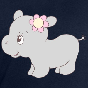Cute Hippy Hippo Girl Shirts - Men's Sweatshirt by Stanley & Stella