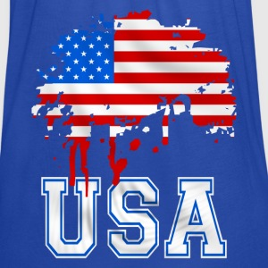 united states 07 Hoodies & Sweatshirts - Women's Tank Top by Bella