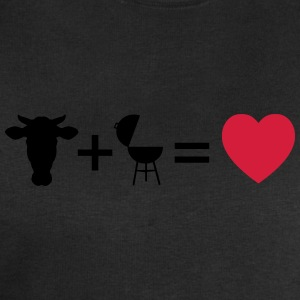 beef & bbq = love  Aprons - Men's Sweatshirt by Stanley & Stella