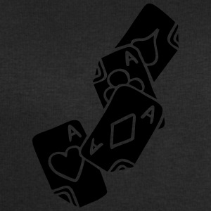 Poker Cards Game Ace Heart Spade Cross Caro Tattoo T-Shirts - Men's Sweatshirt by Stanley & Stella