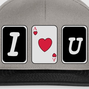I love you Tee shirts - Casquette snapback