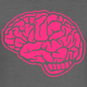 medicine motifs: the brain Tröjor - Slim Fit T-shirt herr