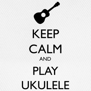 keep calm and play ukulele Sweat-shirts - Casquette classique