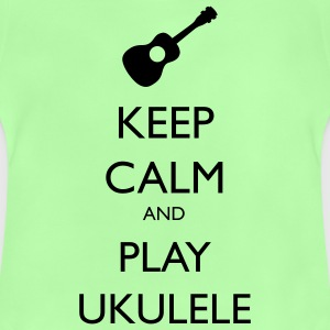 keep calm and play ukulele Sacs et sacs à dos - T-shirt Bébé