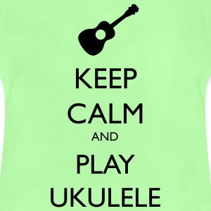 keep calm and play ukulele Bags & backpacks - Baby T-Shirt