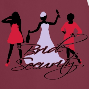 bride security T-Shirts - Cooking Apron