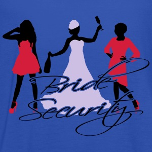 bride security T-Shirts - Women's Tank Top by Bella