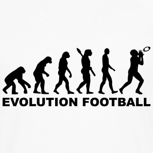 Evolution Football T-Shirts - Männer Premium Langarmshirt