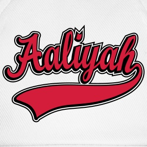 Aaliyah - Name as a sport swash T-Shirts - Baseball Cap