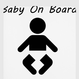 Baby On Board T-Shirts - Mousepad (Hochformat)