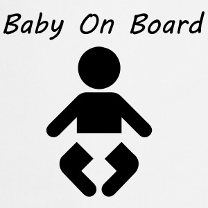 Baby On Board T-shirts - Keukenschort