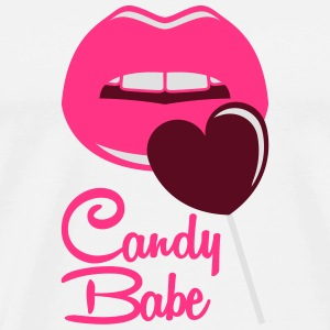 Candy Babe Sweat-shirts - T-shirt Premium Homme